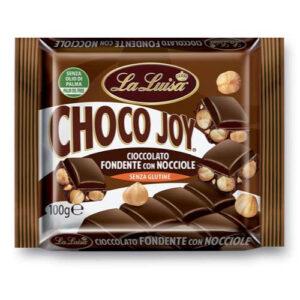 02442 Cioccolato Extra Fondente con Nocciole 100 g Choco Joy